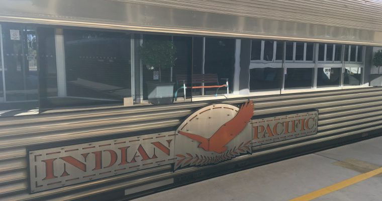 インディアンパシフィック号(オーストラリア・アデレード☞シドニー・2018年5月乗車)