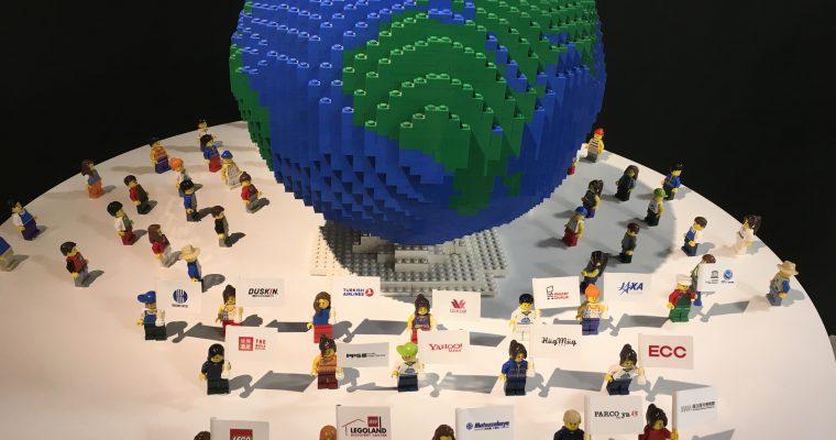 レゴブロックで作った世界遺産(上野松坂屋にて・2017年11月)