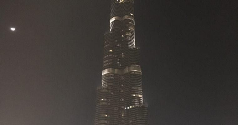 バージュカリファ「建築過程模型」(UAE・ドバイ・2018年3月)