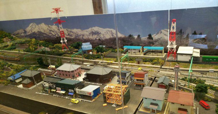 二本木駅「鉄道ジオラマ」(新潟県上越市・2016年9月)