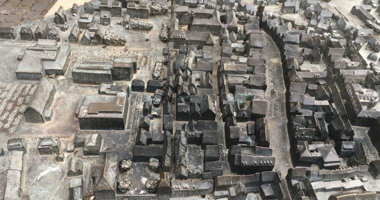 ギュンツブルクの「街の模型」(ドイツ・ギュンツブルク・2018年8月)