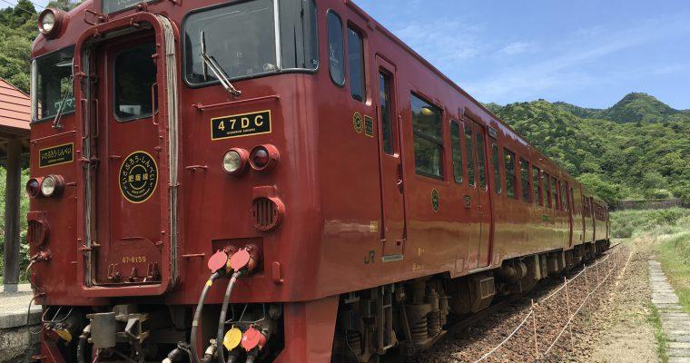 しんぺい(JR九州・吉松駅☞人吉駅・2018年5月乗車)