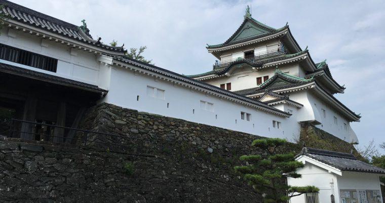 和歌山城「和歌山城下の模型」(和歌山市・2017年7月)