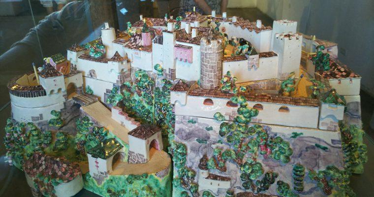 ザルツブルク城「城の模型」ほか(オーストリア・ザルツブルク・2016年8月)