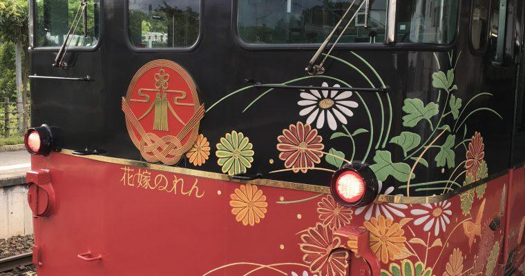 花嫁のれん(JR西日本七尾線・和倉駅☞金沢駅、金沢駅☞七尾駅、2017年6月、2017年9月の2度乗車)