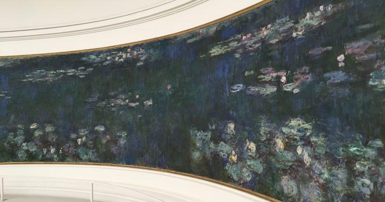 オランジュリー美術館の模型(フランス・パリ・2018年10月訪問)