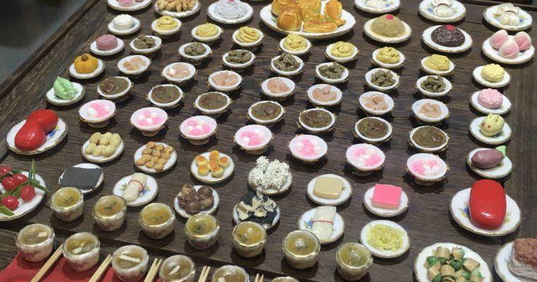 林百貨「店内に展示されていたミニチュア作品」(台湾・台南市・2018年11月)