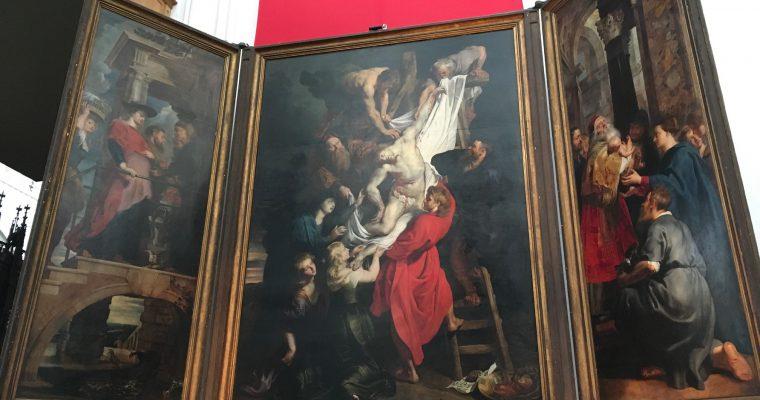 ノートルダム大聖堂の模型ほか(ベルギー・アントワープ・2017年8月訪問)