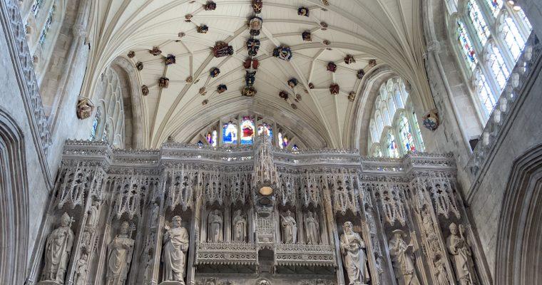 ウインチェスター大聖堂の模型(イギリス・ウインチェスター・2019年GWに訪問)