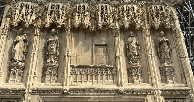 カンタベリー大聖堂の模型(イギリス・カンタベリー・2019年GWに訪問)