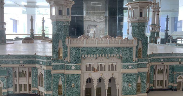 Islamic Arts Museum Malaysia「モスクの模型」(マレーシア・クアラルンプール・2019年6月訪問)