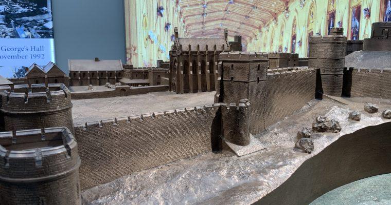 ウインザー城「メアリー女王のドールハウス(休館中)&ウインザー城の模型」(イギリス・ウインザー・2019年GWに訪問)