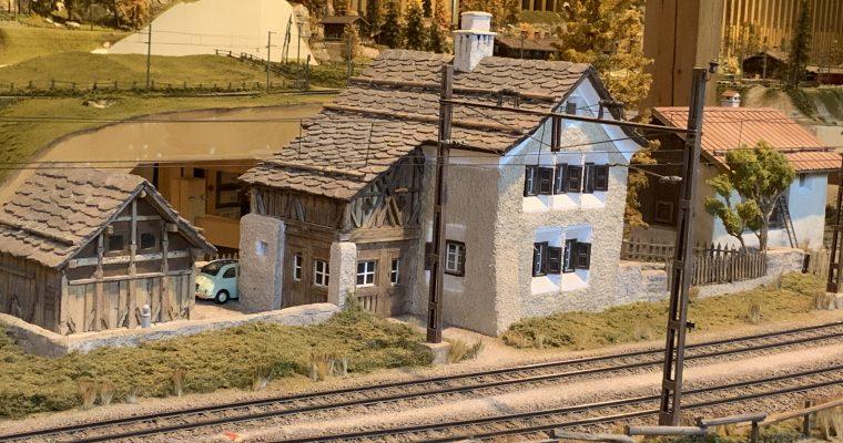 アルブラ鉄道博物館(スイス・ベルギューン・2019年8月訪問)