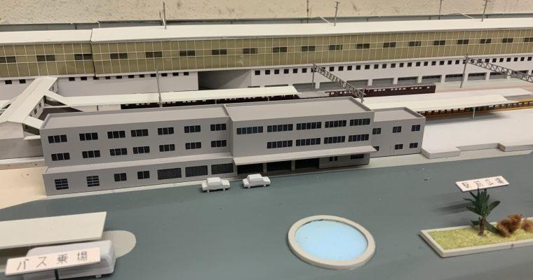 山陽新幹線三原駅「駅の全景模型」(広島県三原市・2019年8月訪問)