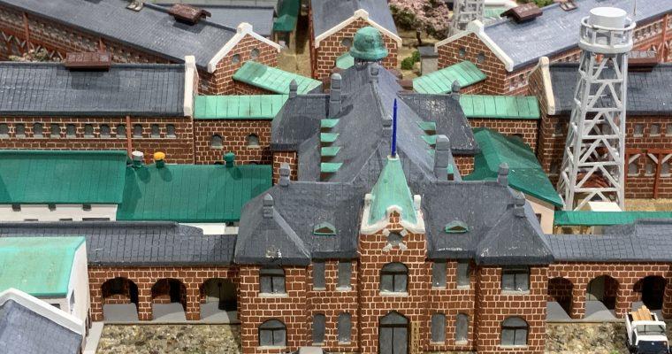 旧奈良監獄「全体模型」(奈良県奈良市・2019年12月訪問)