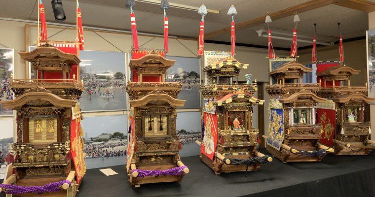 立川美術館「山車の模型」(愛知県半田市・2019年11月訪問)