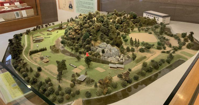 湯築城資料館「湯築城跡全体模型」(愛媛県松山市・2020年2月訪問)