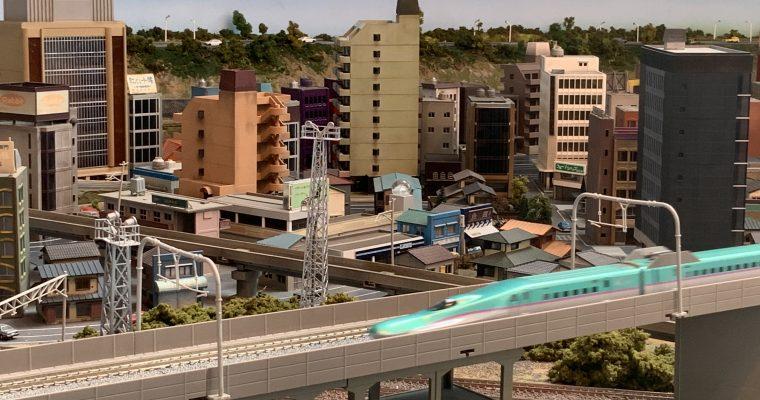郡山市ふれあい科学館スペースパーク「こおりやま鉄道ジオラマ」(福島県郡山市・2020年夏に訪問)