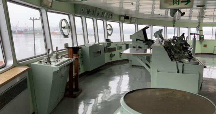 青函連絡船記念館 摩周丸「船の模型」(北海道函館市・2021年4月訪問)