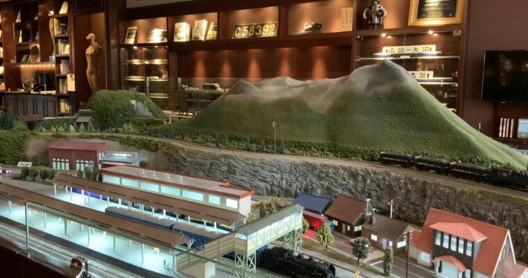 函館大沼 鶴雅リゾートエプイ「鉄道ジオラマ」(北海道函館市・2021年4月宿泊)