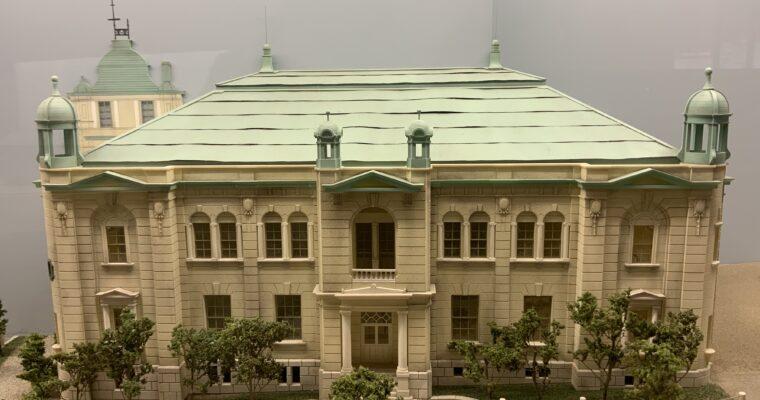 日本銀行旧小樽支店金融資料館「金融街の模型」(北海道小樽市・2021年5月訪問)